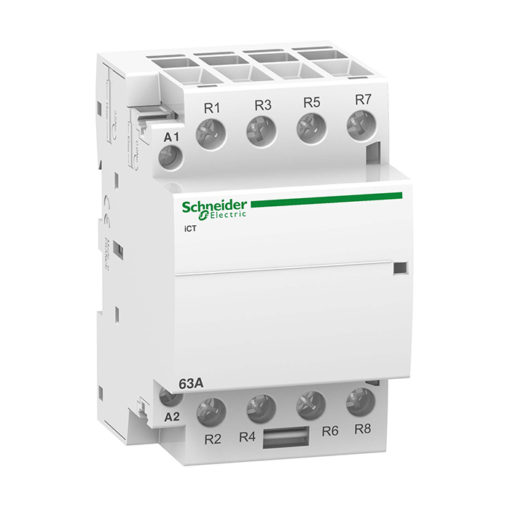 Модульный контактор iCT Acti 9 63A 4НЗ 24В АС 50ГЦ Schneider Electric